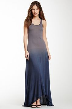 Racerback Hi-Lo Maxi Dress