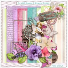 Summer Romance: Add On - $2.44 : Digital Scrapbooking Studio Collab by #ADBDesigns & #SKrapper Digitals
