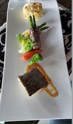 Blackcord Fish with Cytrus sauce & Potato Gratin @ The Royal Santrian Luxury Beach Villa, Tanjung Benoa Bali,Indonesia  #SantrianLife #theroyalsantrian #food #tavelingbali #travelingindonesia #royalsantrian #balivilla #thebalibible #thebaliguideline #bali #indonesia #balifood #balidaily  Photo by @wayanyumeri