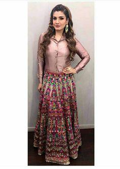 Ravenna random look Indian Skirt, Indian Dresses, Indian Outfits, Indian Attire, Indian Wear, Indian Designer Outfits, Designer Dresses, Casual Dresses, Fashion Dresses