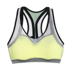 Stay cool and comfortable while you are working out with these mesh gym clothes. From sports bras to shirts with mesh cutouts, you can easily wear these pieces to the gym or as athleisure wear to go to coffee.