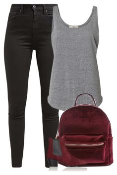 """""""Untitled #9821"""" by fanny483 ❤ liked on Polyvore featuring Levi's and Yves Saint Laurent"""