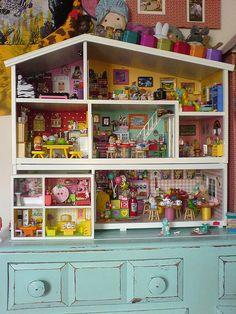 doll house extravaganza | Teeny Tiny! by Rainbow Mermaid on Flickr