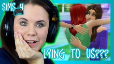 Is our new friend in The Sims lying to us? Watch my Sims 4 on console series to find out!