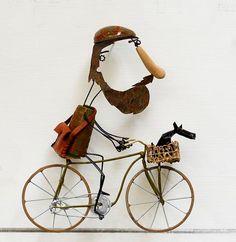 LAUREN VAN HELMOND-(567×583) Art Ideas, How To Draw Hands, Images, Bicycle, Van, Sculpture, Dolls, Love, Tela