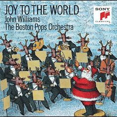 John Williams, Robin Williams The Boston Pops Orchestra - Joy To The World Christmas In Boston, New York Christmas, Christmas Albums, Christmas Night, Christmas Music, Boston Pops, Pop Albums, Music Album Covers, Robin Williams