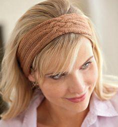 Bianca Headband pattern by Connie Chang Chinchio #Knit