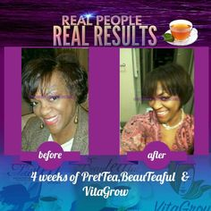 Real People, REAL Results PretTEA, BeauTEAful Tea, Grow On The Go Lemonade, VitaGROW, & GROLixir make up the awesome products that work together as a synergy support system for longer, stronger, healthier hair. All you have to do is #SipandGROW , #SipTeaGrowHairMakeMoney, #Prettea, #hairtea, #myflowhairchallenge http://sipteagrowhair.com #FrontLineGenerals #WeFlowing  #WeWinning,  #MyFlowIndustry