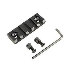 5 Slot Keymod Rail Section Picatinny Rail for Key Mod Handguard Mount Rail Sytstem, 2 Inch in Length
