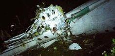 Acidente de avião com time da Chapecoense mata 75 na Colômbia