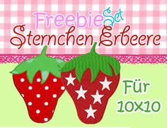 Schönes von Emilu: Freebie Erdbeere ab 10x10!!♥ Dicke saftige Erdbeeren ... yummy