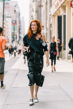 NYFW SS18 Street Style II | Collage Vintage