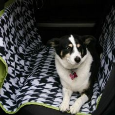 DIY Seat Cover for Dogs