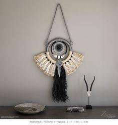 Dream Catcher Decor, Textiles, Macrame Plant Hangers, Hobo Style, Macrame Art, Wall Hanger, Home Deco, The Dreamers, Boho Fashion