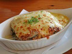 Receta de Lasaña de berenjena con queso y tomate