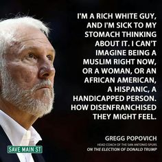 I'm a working class white guy and I'm sick to my stomach about all of it and the neverending inequity dolled out by your rich cohorts.
