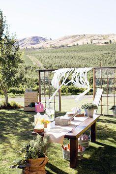 DIY details for a backyard wedding. Photography by jacquelynnbrynn.com, Floral Design by acebook.com/BloomersFlowersWenatchee, Read more - http://www.stylemepretty.com/2013/06/19/diy-backyard-wedding-from-jacquelynn-brynn-photography/