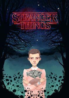 Eleven, Stranger Things fan art