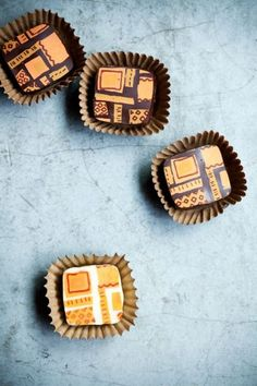 Chocolate bonbons made with cacao from indigenous producers in the nearby Peruvian rain forest