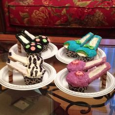 high heel cupcakes @Taylor Daniell