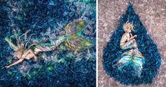 Mermaids Swim In A 10,000 Plastic Bottle Ocean To Show How Much Average Person Pollutes Earth   Bored Panda