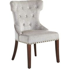 Pier 1 Imports Silver Hourglass Dining Chair