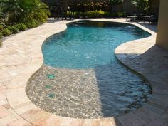 lovely best small pools and small pool designs small backyard pool design for well best small pool ideas on plans natural 51 small fiberglass pools uk Pools For Small Yards, Backyard Pool Designs, Small Backyard Landscaping, Landscaping Ideas, Backyard Ideas, Backyard Playground, Pool In Small Backyard, Walk In Pool, Desert Backyard