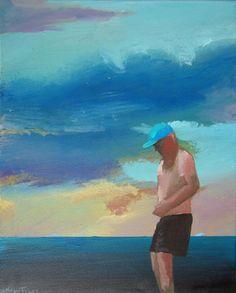 "Saatchi Art Artist Geoffrey Greene; Painting, ""No Champagne in the Longest Time - SOLD on Saatchi"" #art"