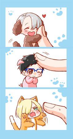 I love tiny Yurio's attack face
