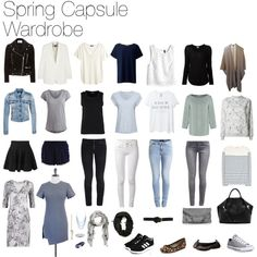 My actual capsule wardrobe by veravisser on Polyvore featuring polyvore, mode, style, Sandwich, 3.1 Phillip Lim, Zoe Karssen, Shallowww, Splendid, H&M, Noisy May, Closed, Whistles, Pieces, Zara, Amanda Wakeley, STELLA McCARTNEY, Acne Studios, Object, Object Collectors Item, rag & bone, Cheap Monday, VILA, adidas, Converse, Tony Bianco, Yosi Samra, Mulberry, Luv Aj, Swarovski, Amour, wardrobe and capsule