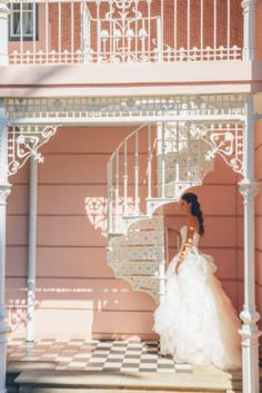 Before walking down the aisle, this bride made her way to the Belmond Mount Nelson Hotel, where she slipped into an exquisite gown, adorned with romantic ruffles. Wedding Shoot, Wedding Dresses, Pink Walls, Wedding Inspiration, Wedding Ideas, Pastel Pink, Gowns, Bride, Celebrities