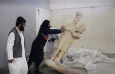 Reperti archeologici cristiani distrutti