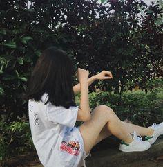 Korean Boys Ulzzang, Korean Girl, Asian Girl, Korean Aesthetic, Aesthetic Girl, Cute Girls, Cool Girl, Typical Girl, Uzzlang Girl