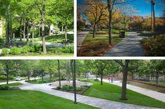 perk park thomas balsley - Google Search Indoor Garden, Indoor Outdoor, Garden Paths, Sidewalk, Landscape, Park, Google Search, Architecture, Arquitetura