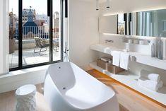 Tono Bagno, Baños diseño, Hotel Mandarin
