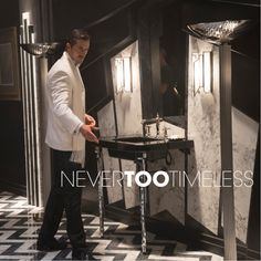 If you've enjoyed this week's black-and-white, Charlie Chaplin-style bathroom, you'll swoon over the strong design lines and stylized artistry that make Art Deco ‪#‎NeverTooTimeless‬.
