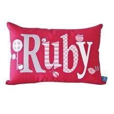 Personalised Cushions - Large Name Styles