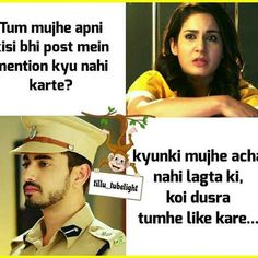 Awww how cute Latest Funny Jokes, Extremely Funny Jokes, Zain Imam Instagram, Hiding Feelings, Girls Phone Numbers, Funny Quotes, Funny Memes, Girly Attitude Quotes, Love Thoughts