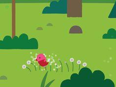 application jeu ipad Forest Flyer - pissenlits