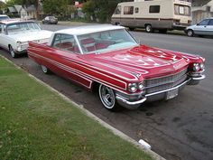 '63 Cadillac. great paint
