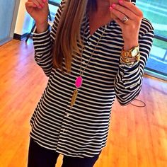 Simple | Stripes | Outfit | Cute
