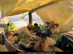 Lunch on the Boat, 1898 - Joaquin Sorolla y Bastida - www.joaquin-sorolla-y-bastida.org