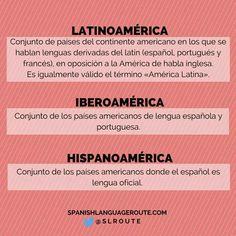 Definiciones Latinoamérica Iberoamérica Hispanoamérica