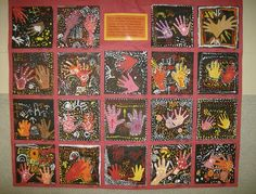 Dana Shaughnessy's Art Class Collection: Lesson #2: Aboriginal Dot Paintings