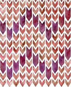 Chevron Repeat by Sasha Prood - 15% goes to Action For Healthy Kids!
