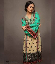 92c4bf154 22 Best RABEA EMBROIDERED KURTI COLLECTION 2015 BY SHARIQ TEXTILE ...