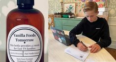 Tennessee Teen Raises Thousands of Dollars For Food Banks By Making and Selling His Own Vanilla – WATCH #goodnews #foodbanks #kindness Good News Stories, Sweet Stories, How To Make Box, Make And Sell, Science News Articles, Second Harvest Food Bank, Family Meaning, Middle School English, Proud Mom