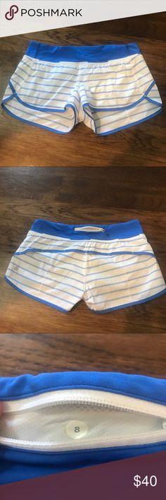 a4c35cae3d Spotted while shopping on Poshmark: Lululemon Speed Short 2-way stretch Size  8!