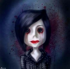 I love coraline it's weird,scary,creative and has imagination from out of this world it's like me((: