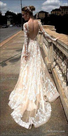 222 beautiful long sleeve wedding dresses (36)
